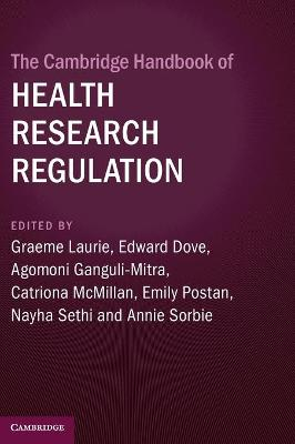 The Cambridge Handbook of Health Research Regulation
