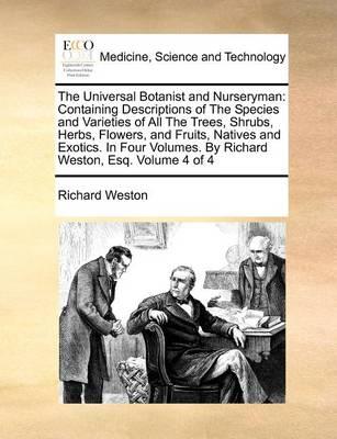 The Universal Botanist and Nurseryman