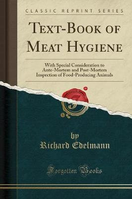 Text-Book of Meat Hygiene