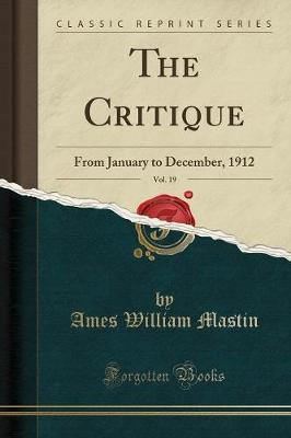 The Critique, Vol. 19