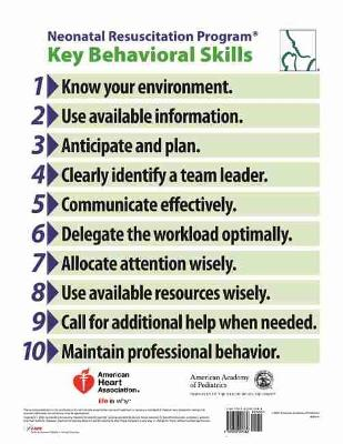 NRP Behavioral Skills Poster