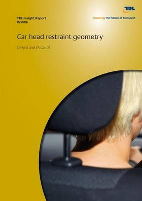 Car Head Restraint Geometry