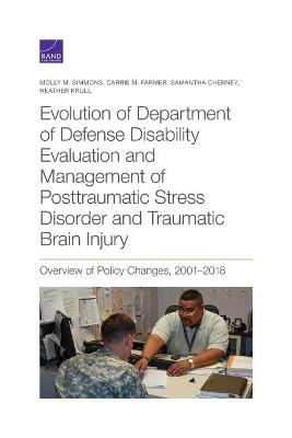 Evolution of Department of Defense Disability Evaluation and Management of Posttraumatic Stress Disorder and Traumatic Brain Injury