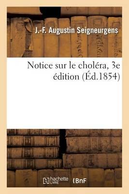 Notice Sur Le Chol ra. 3e dition