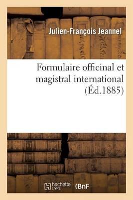 Formulaire Officinal Et Magistral International