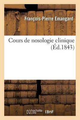 Cours de Nosologie Clinique