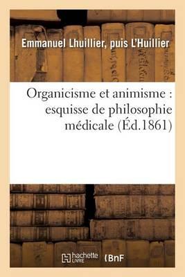 Organicisme Et Animisme
