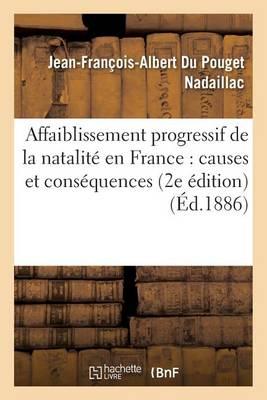 Affaiblissement Progressif de la Natalit En France