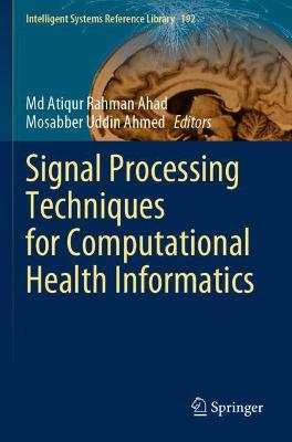 Signal Processing Techniques for Computational Health Informatics