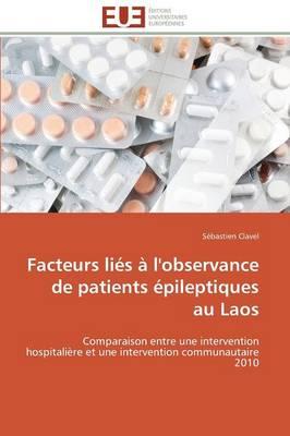 Facteurs Li s l'Observance de Patients pileptiques Au Laos