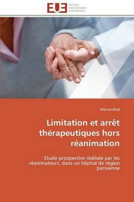 Limitation Et Arr t Th rapeutiques Hors R animation
