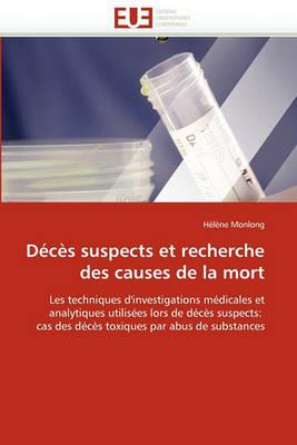 D c s Suspects Et Recherche Des Causes de la Mort