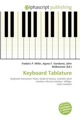 Keyboard Tablature