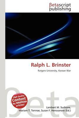 Ralph L. Brinster
