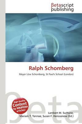 Ralph Schomberg