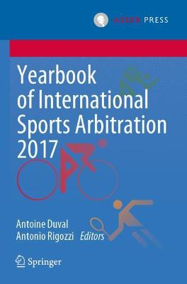 Yearbook of International Sports Arbitration 2017